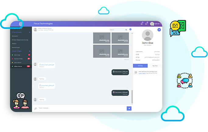 Chat - NewHRMS Dashboard