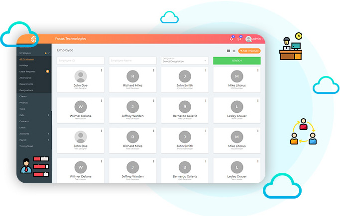 Employees - NewHRMS Dashboard